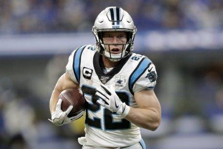 McCaffrey, Panthers agree to massive deal through 2025season