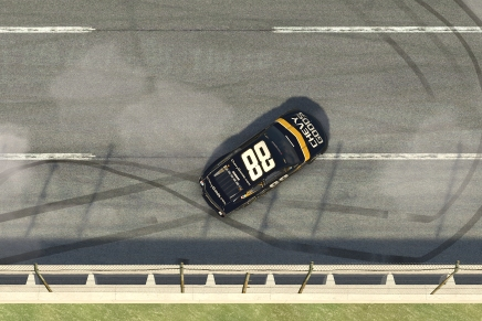 Bowman won a close race in the GEICO 70 at virtual 2020 Talladega
