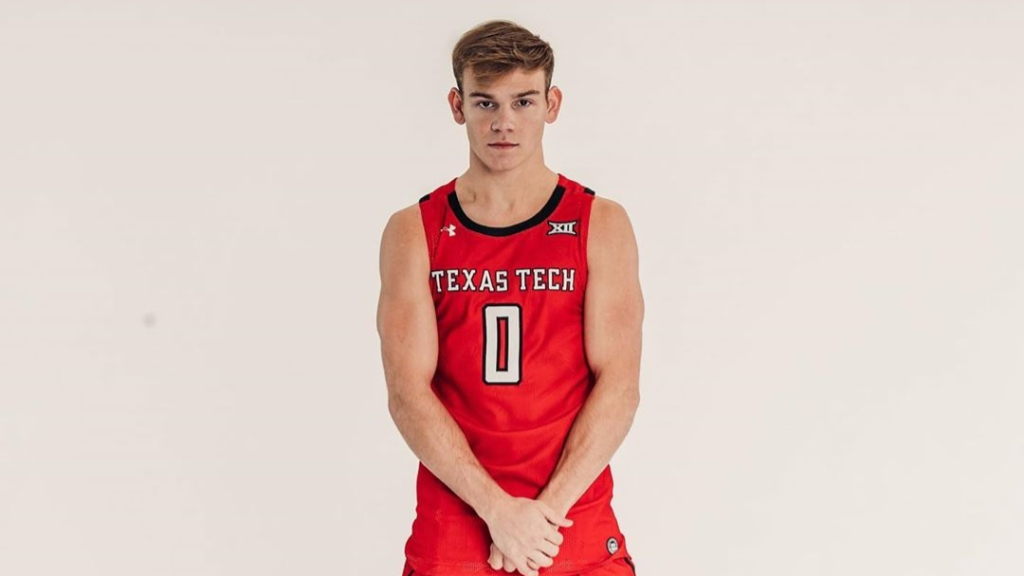 Texas Tech guard Mac McClung poses for portraits following his transfer from the Georgetown Hoyas
