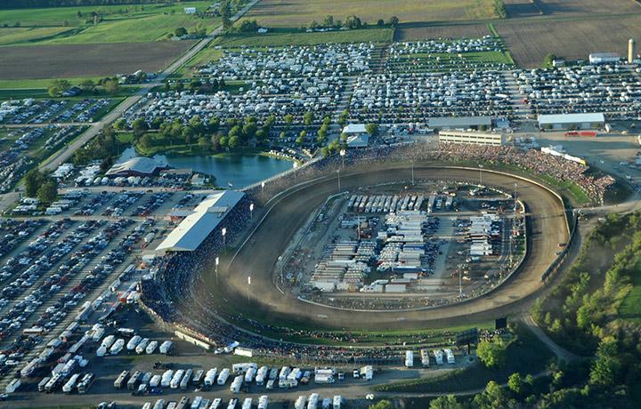 Eldora Speedway Aerial View
