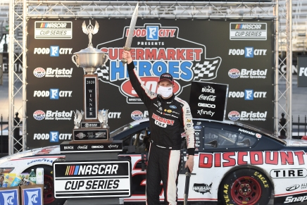 Keselowski wins 2020 Food City Presents the Supermarket Heroes 500