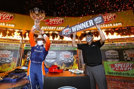 Dixon wins IndyCar's first race in 2020 postcoronavirus