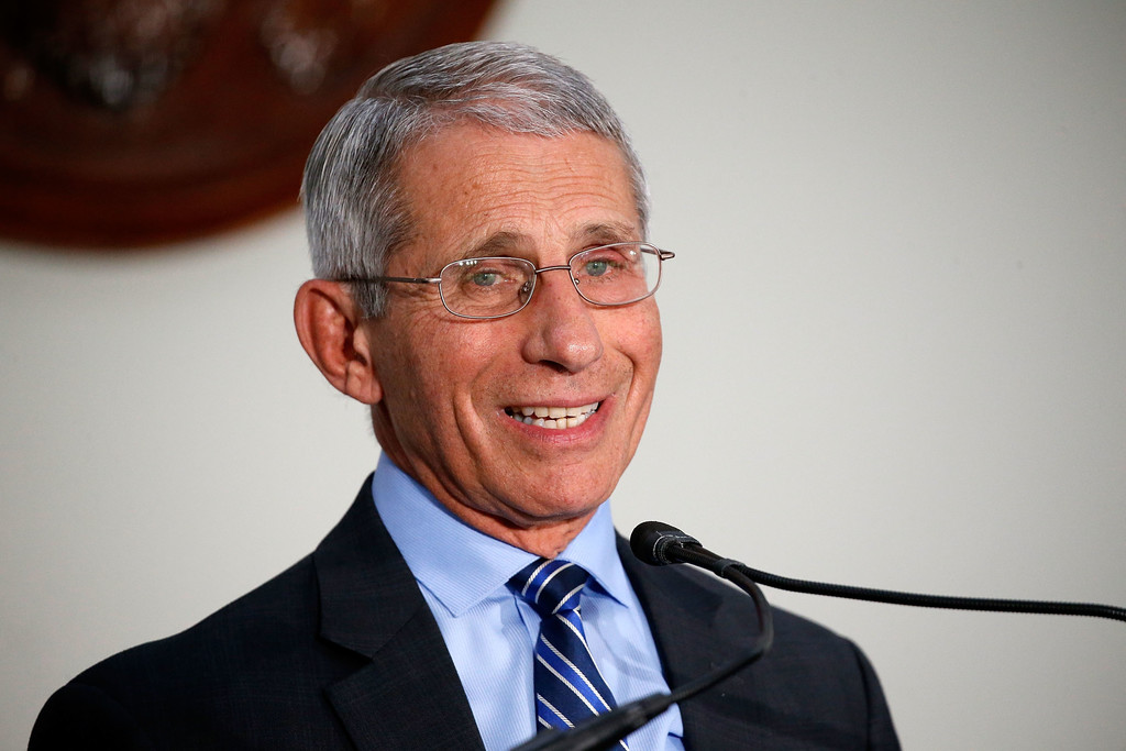 "Director of the National Institute of Allergy and Infectious Diseases Dr. Anthony Fauci speaks at ""Making AIDS History: A Roadmap for Ending the Epidemic"""