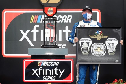 Briscoe wins fifth 2020 Xfinity race at The Brickyard