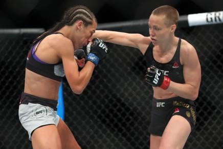 Namajunas gets split decision win over Andrade at UFC251