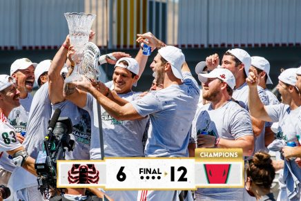 Whipsnakes win second straight PLLChampionship