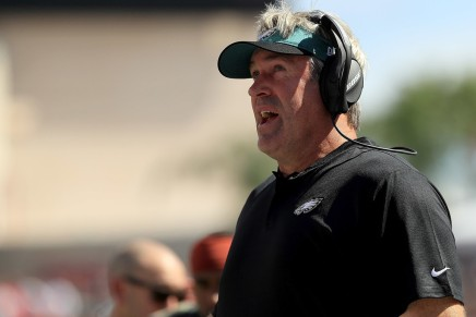 Eagles' Doug Pederson has the coronavirus