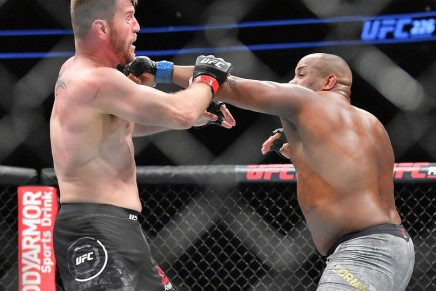 Miocic wins by unanimous decision over DC at UFC252