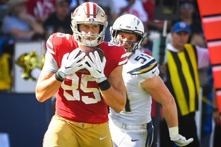 49ers, Kittle agree to richest TE deal in NFL history