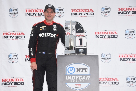 Power wins for first-time in 2020 at Honda Indy 200 Race1