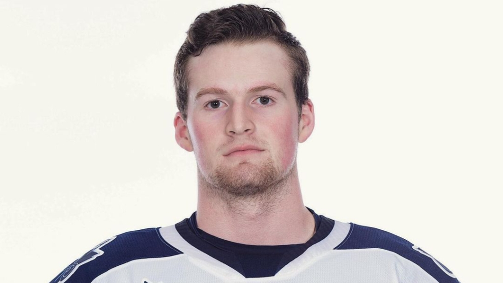 Rimouski Océanic left-winger Alexis Lafrenière poses for a picture in his Quebec Major Junior Hockey League jersey in one of his final pictures in the jersey
