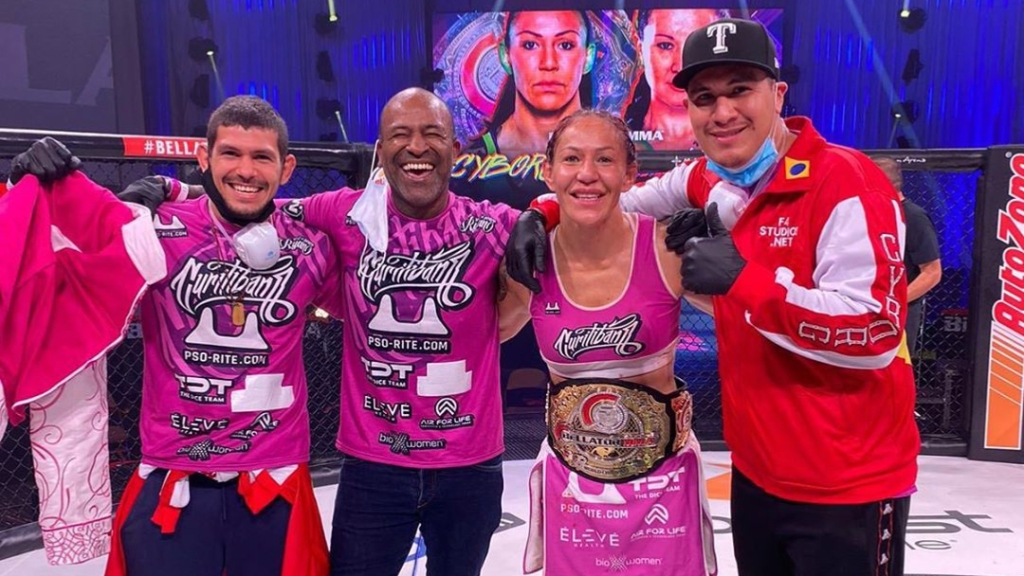 Bellator MMA champion Cris Cyborg was dominant in her win over Arlene Blencowe in the Bellator MMA 249 main event
