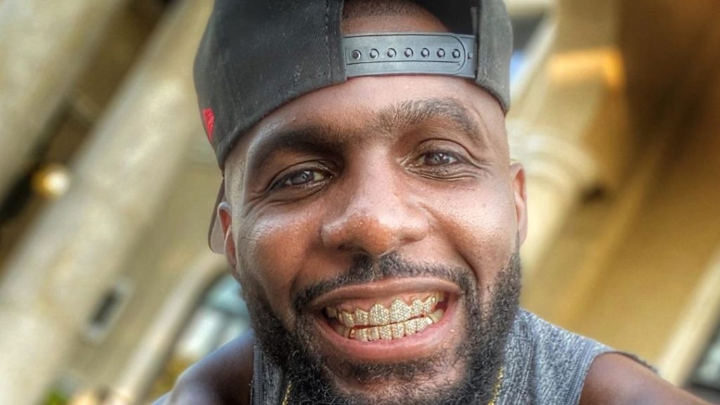 Former NFL wide receiver Dez Bryant smiles as he grinds to make it back to the league three-years after playing for the Dallas Cowboys