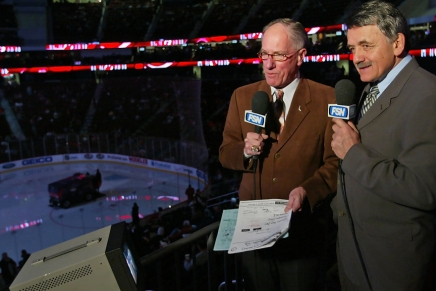 Legendary hockey broadcaster Doc Emrick has retired