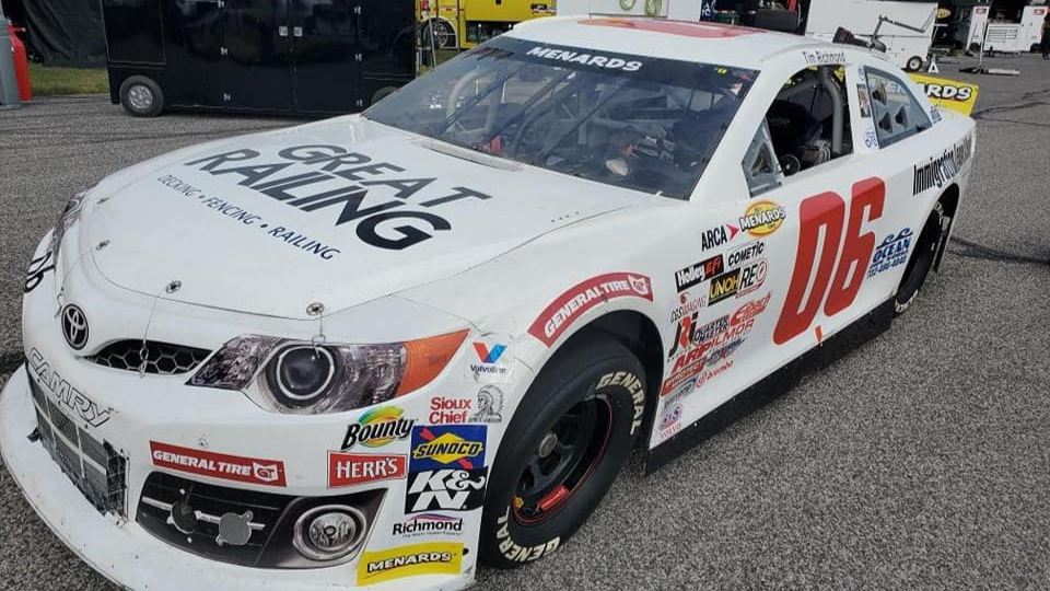 Eric Caudell's ARCA Racing Series race car stolen outside of a Kansas City, Kansas hotel