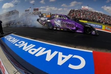 Beckman defeats Hagan in first Funny Car win at the TexasMotorplex