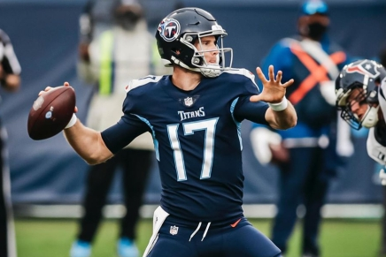 Virtual Game Ball: Titans QB Tannehill had big game in 2020 Week 6 vs. Texans