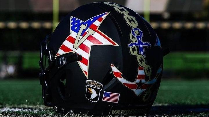 Vanderbilt Commodores Helmet