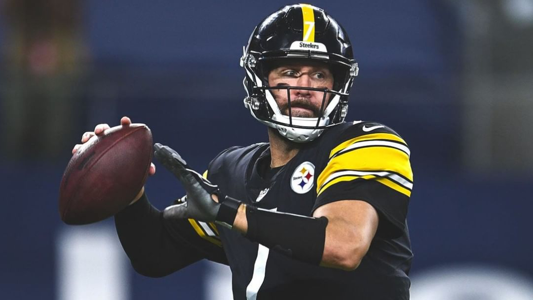 Pittsburgh Steelers quarterback Ben Roethlisberger attempts to throw the football against the Dallas Cowboys