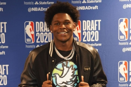 Timberwolves draft Anthony Edwards with top pick in 2020 NBADraft