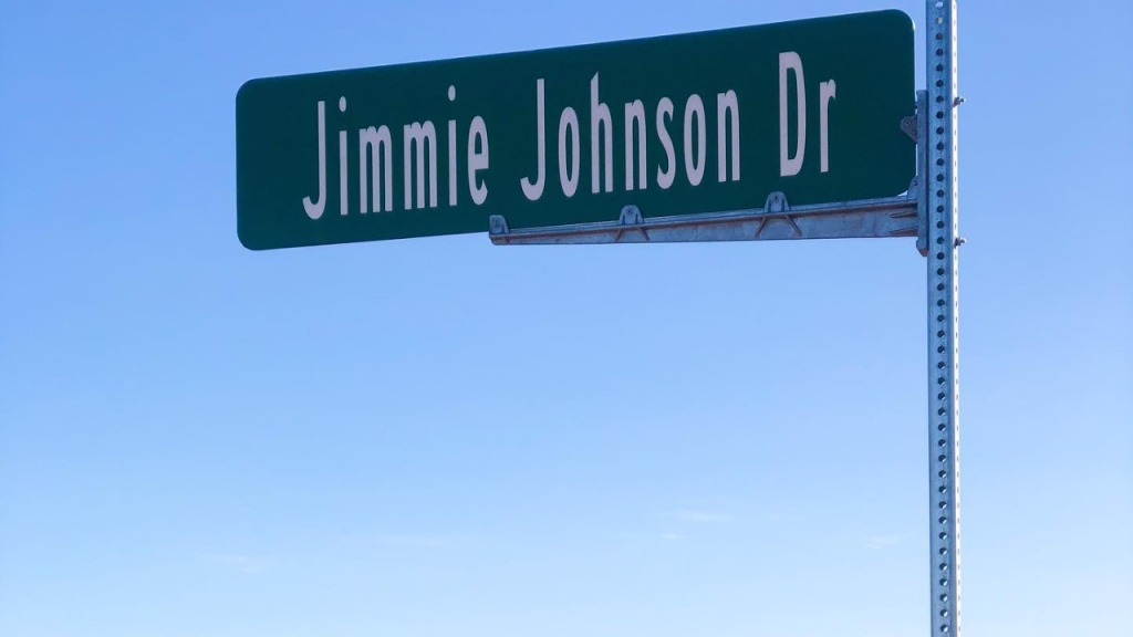 Phoenix Raceway has named a street outside of their facility Jimmie Johnson Drive just hours before the NASCAR legend competes in his final race in the sport before he transitions to IndyCar.