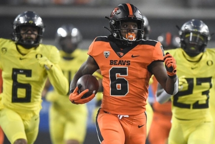 Beavers win first game over Ducks since2016