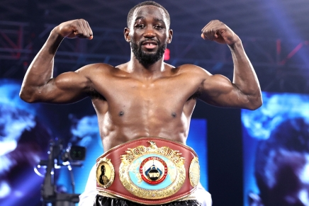 Crawford knocks out Brook in the fourth round in Las Vegas