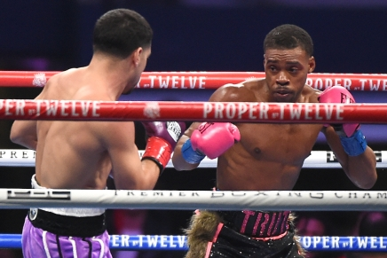 Spence Jr. defeats Garcia for first win following Texas car accident