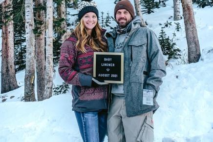 Megan Lingner has announced that she ispregnant