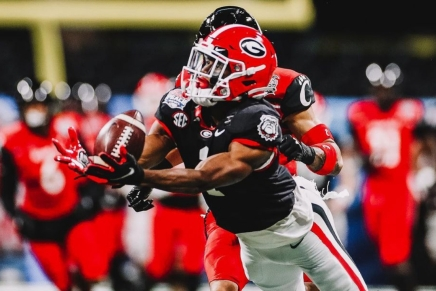 Bulldogs score 14 fourth quarter points, defeat Bearcats in 2021 Chick-fil-A PeachBowl
