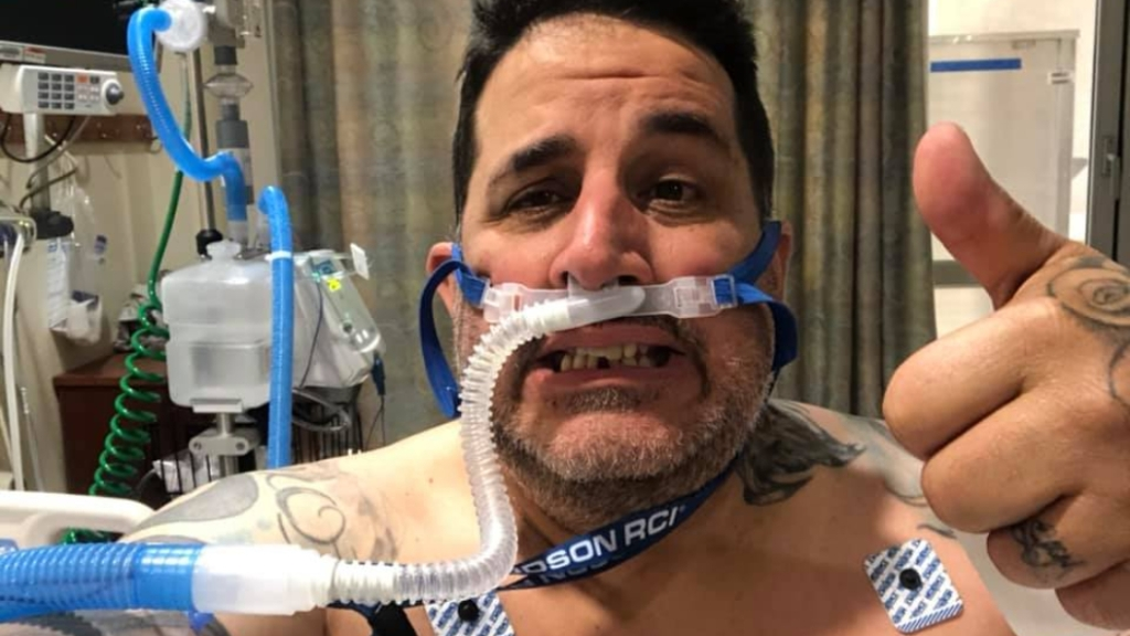 Street Outlaws competitor Mike Murillo is battling the coronavirus in the hospital