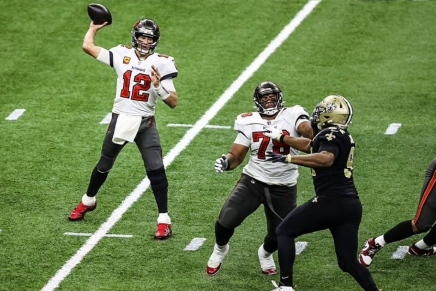Buccaneers defeat Saints, as Brady advances to his 14th Conference Championship game