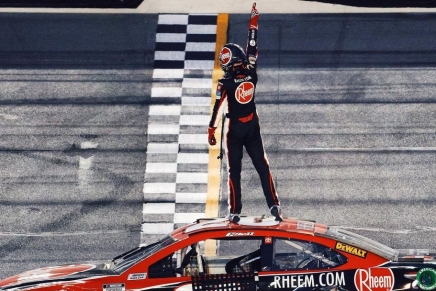 C. Bell wins first Cup Series race at Daytona roadcourse