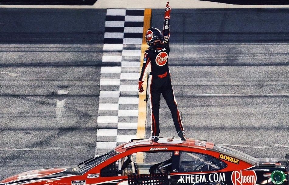 C. Bell wins first Cup Series race at Daytona road course