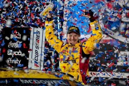 McDowell wins first Cup Series win at 2021 Daytona500