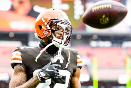 Rashard Higgins would like to re-sign with theBrowns
