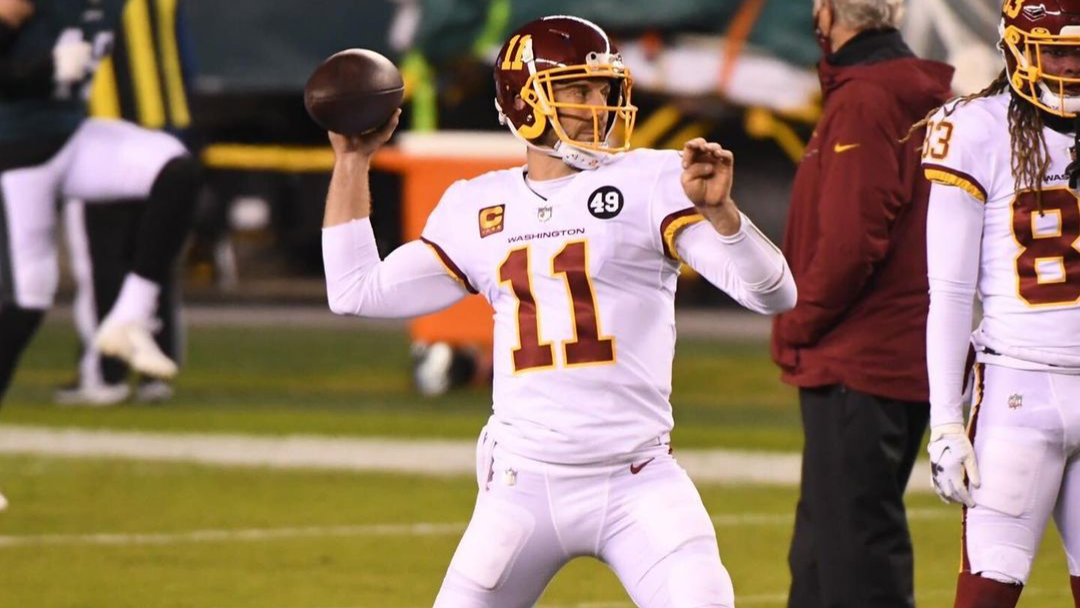 Washington Football Team releases Comeback Player of the Year Alex Smith