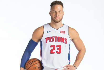Pistons agree to contract buyout with BlakeGriffin