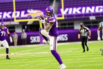 Vikings release Kyle Rudolph after adecade