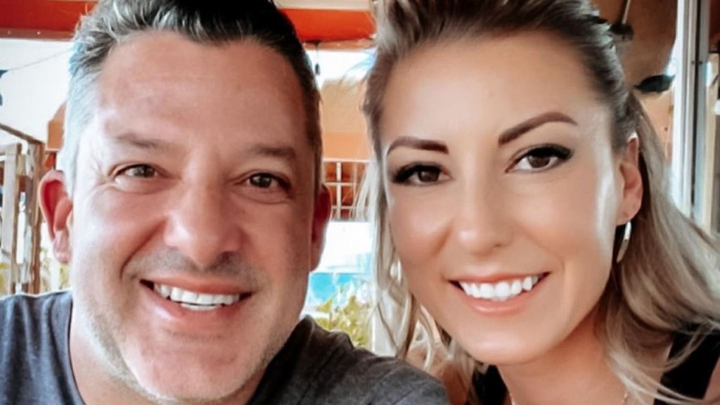 Former NASCAR Cup Series driver Tony Stewart and NHRA Top Fuel Dragster pilot Leah Pruett spend time together in a recent trip