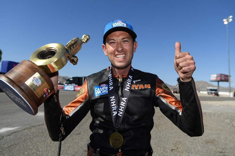 Oehler wins first Four-Wide Wally in LasVegas