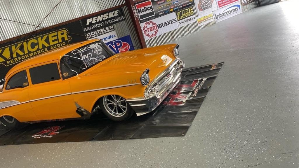 Jeff Lutz's '57 race car