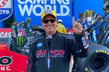 Capco pilots go 1-2 in final Top Fuel Atlantaladder